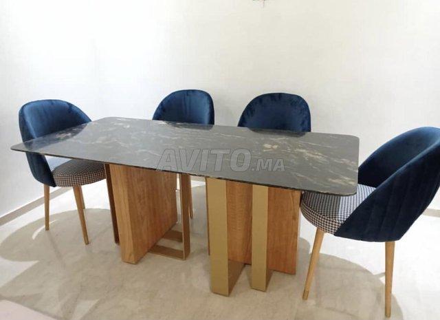 Table à manger marbre - 7
