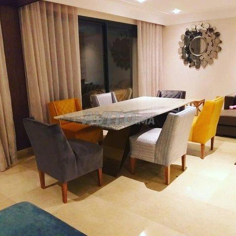 Table à manger marbre - 8