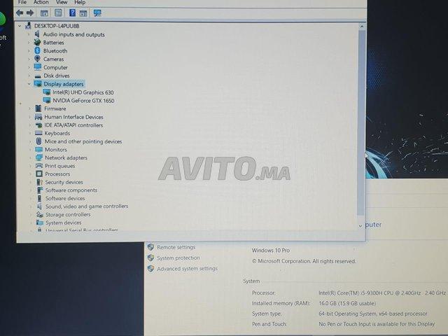 LENOVO Ideapad L340-15IRH GTX 1650-SSD 512-16Gb - 7