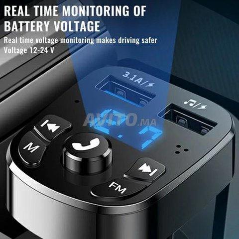 Transmetteur FM Bluetooth 5.0 - 2
