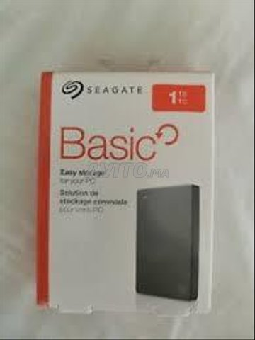DISQUE DUR EXTERNE Seagate 1 TO SEGATE 1TO HDD - 3