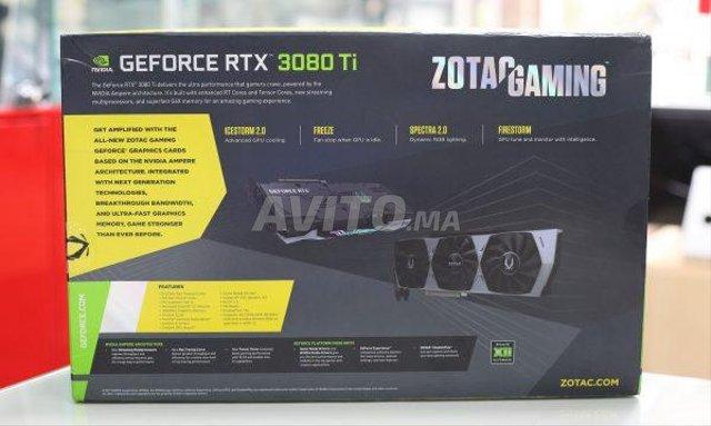 Carte graphique Zotac GeForce RTX 3080Ti 12G à  - 2