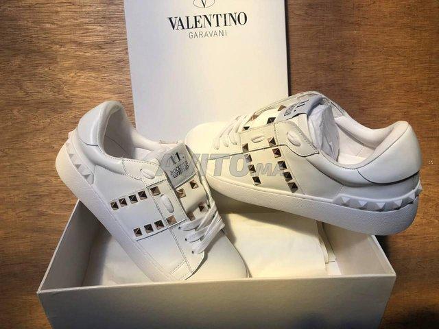 Sneakers Valentino Cuir  - 1