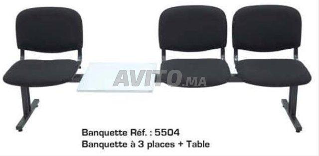 Banquette salle d'attente - 2
