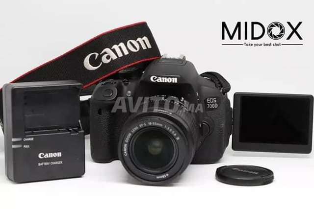 Canon 700D 18-55mm PROMOTION MAGASIN Midox SHOP - 1
