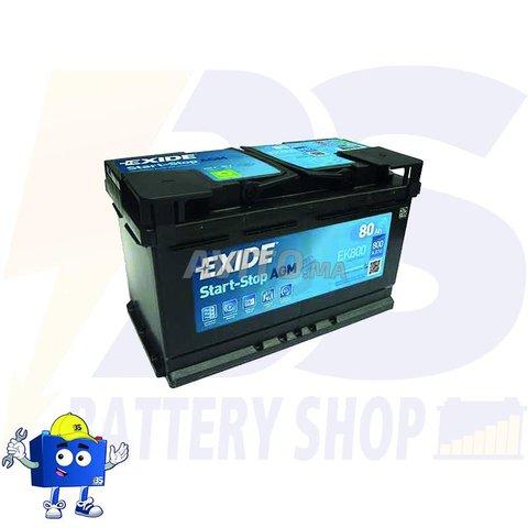 EXIDE   L4 AGM 12V - 80Ah 800A START-STOP - 1