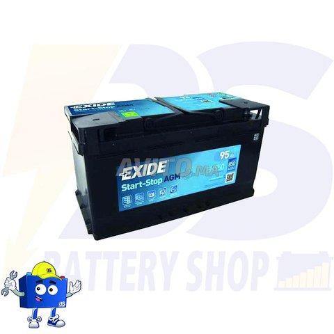 EXIDE  L5 AGM START STOP 12V 95 Ah 850 A  - 1