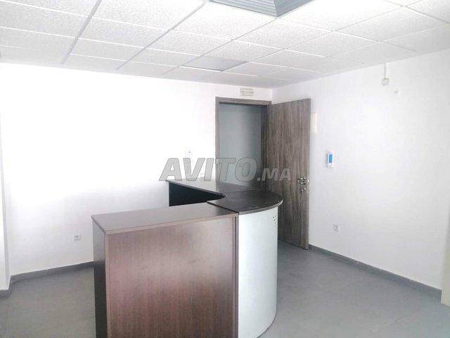 Plateau de bureau non meublé de 54m2 au Maarif  - 3
