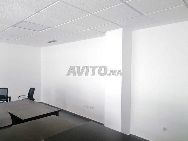 Plateau de bureau non meublé de 54m2 au Maarif  - 6