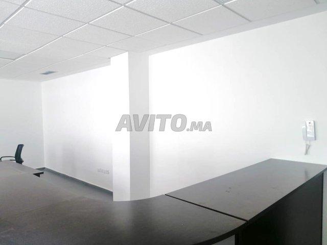 Plateau de bureau non meublé de 54m2 au Maarif  - 5