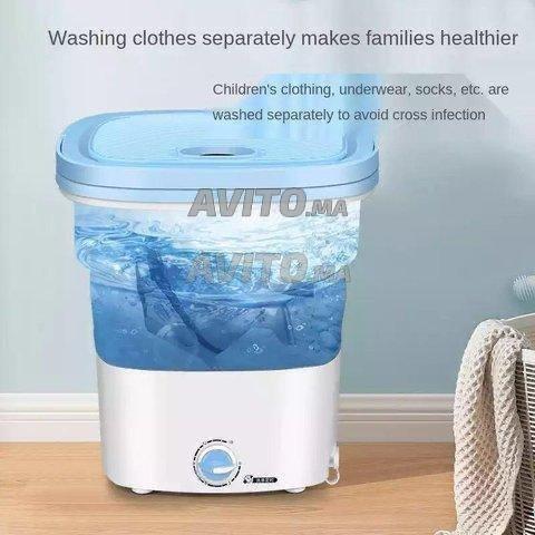 Mini machine à laver pliable et portable ORVICA  - 1