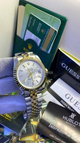 Rolex datejust cadran blanc - 1