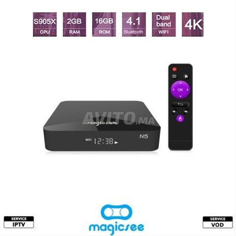 MAGICSEE N5 Android TV - 1