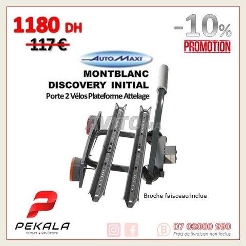Porte Vélo Plateforme Boule Atellage Universelle - 1