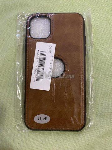 Coque premium en cuir pour iPhone 11 - Pochette - 2