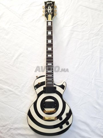 Guitar Gibson Zakk Wylde Custom Shop  - 2