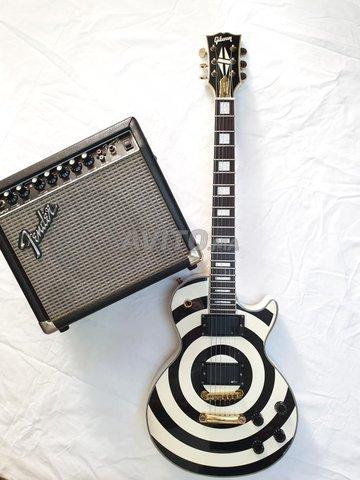 Guitar Gibson Zakk Wylde Custom Shop  - 7
