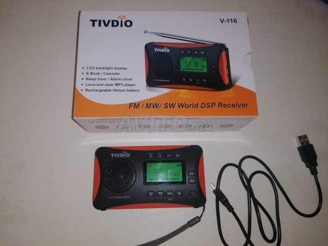 Radio mp3 Tivdio v116 - 1