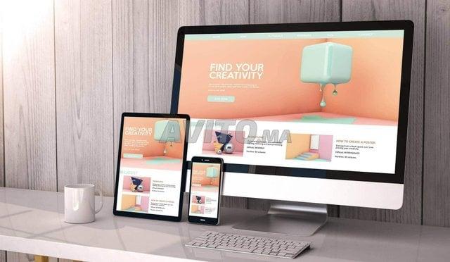 Création site web clé en main - 1