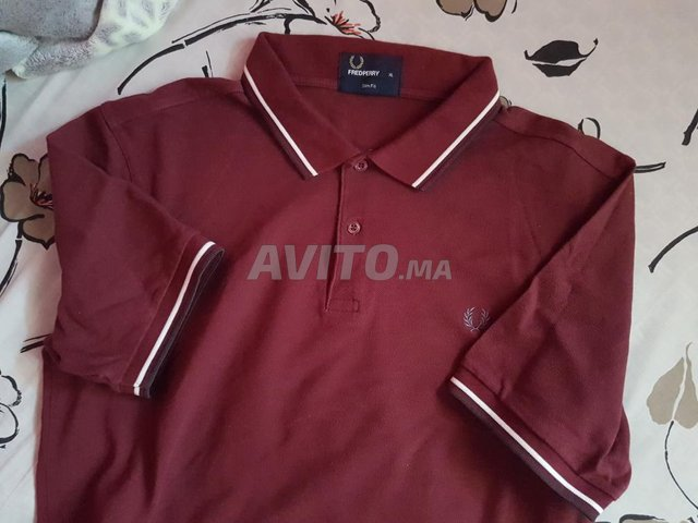 fred perry polo shirt  neuf L XL - 7