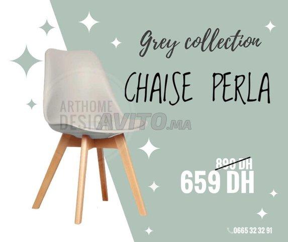 Chaise scandinave PERLA - 1