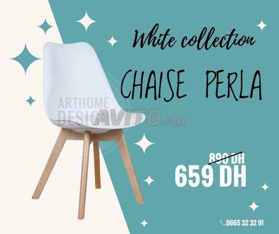 Chaise scandinave PERLA - 4