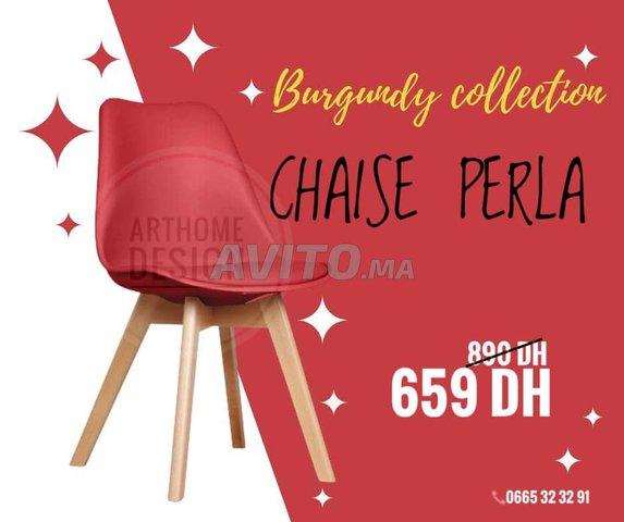 Chaise scandinave PERLA - 5