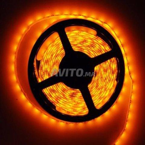 RUBAN LED AMBRE 5060 12V 5M  - 1