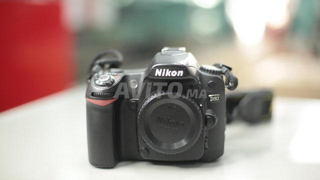 NIKON D80 ( Body Only) une rivale prrix à tanger - 1