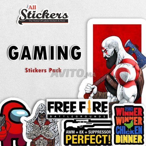 Gaming Stickers Pack - 1