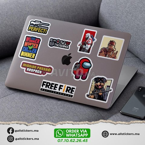 Gaming Stickers Pack - 4