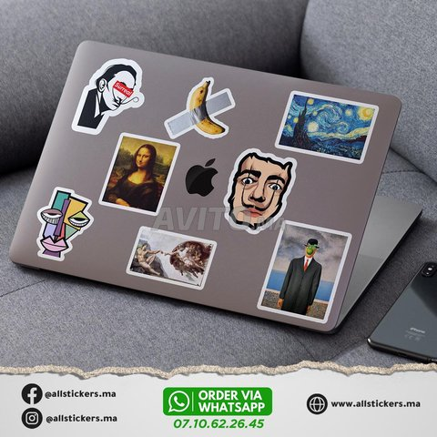 Art Stickers Pack  - 4