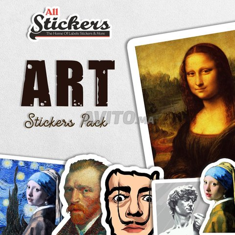 Art Stickers Pack  - 1