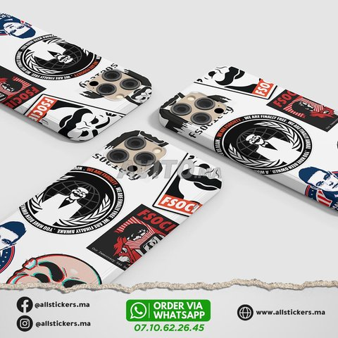 Mr Robot Stickers Pack - 3