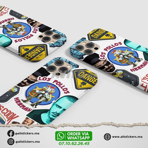 Breaking Bad Stickers Pack - 3