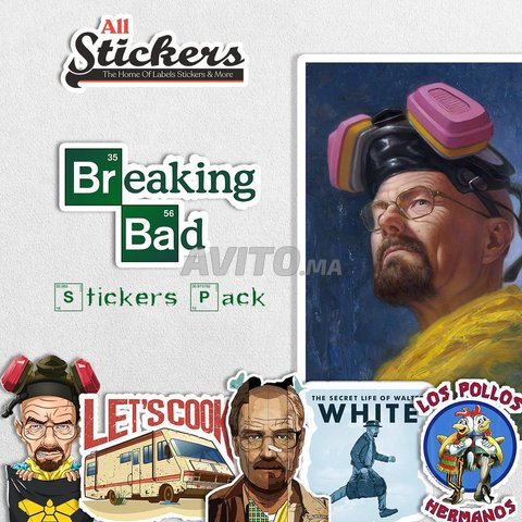 Breaking Bad Stickers Pack - 1