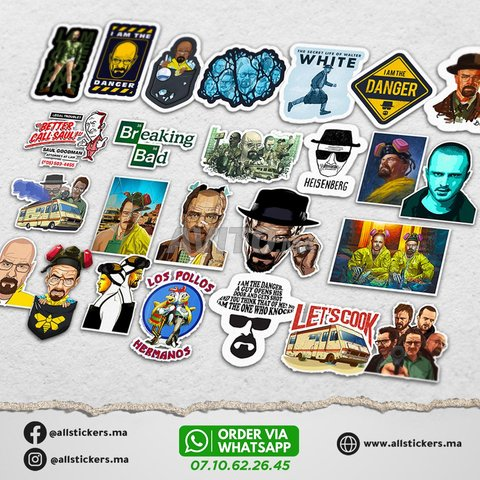 Breaking Bad Stickers Pack - 2