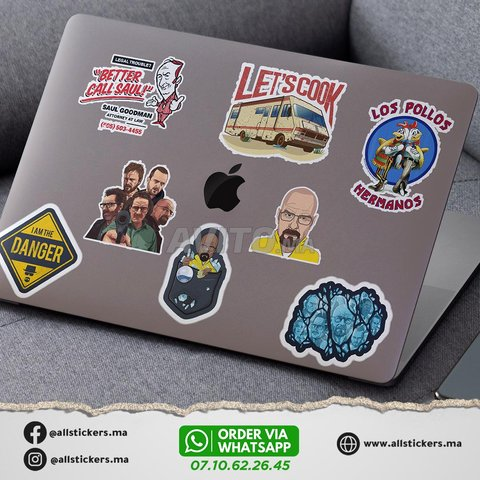 Breaking Bad Stickers Pack - 4