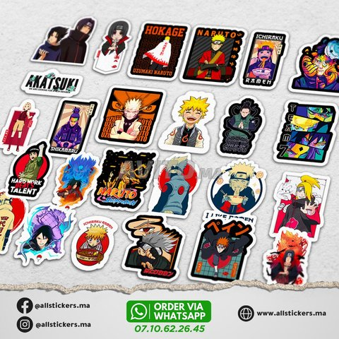Naruto Stickers Pack - 2