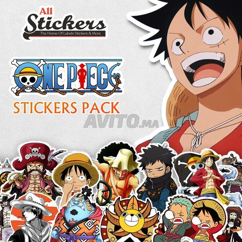 One Piece Stickers Pack - 1