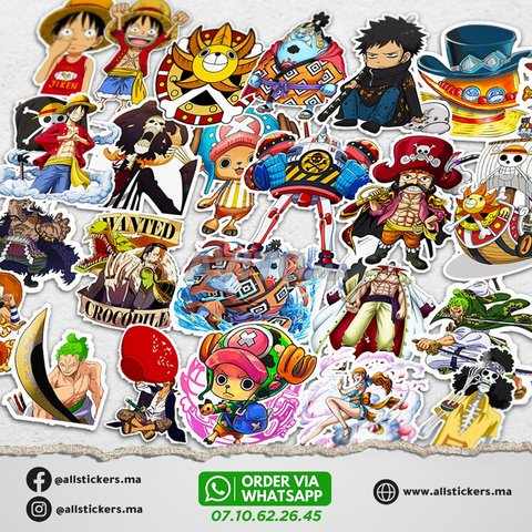 One Piece Stickers Pack - 2