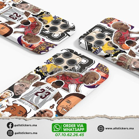 NBA Stickers Pack - 3