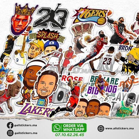 NBA Stickers Pack - 2