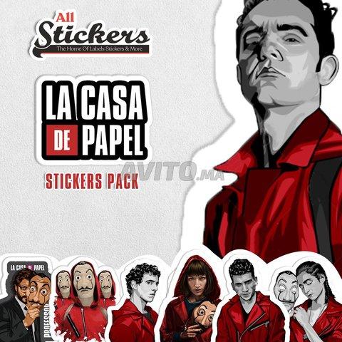 La casa de papel Stickers Pack - 1