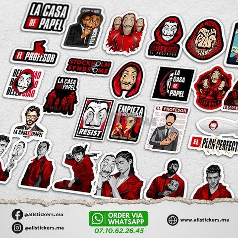 La casa de papel Stickers Pack - 2