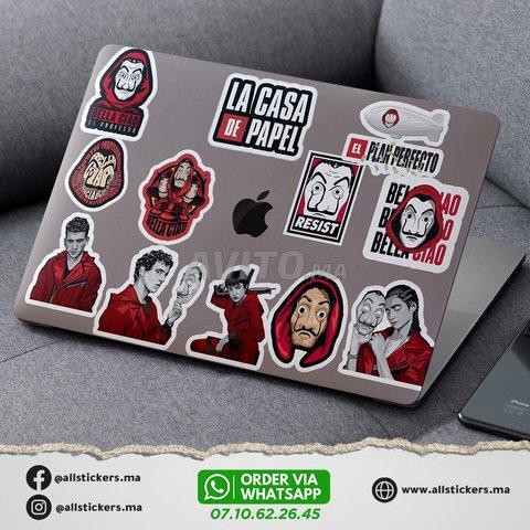 La casa de papel Stickers Pack - 4
