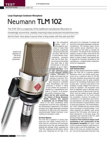 Neumann TLM 102  - 6