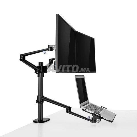 Support de Pc et deux écrans - 2
