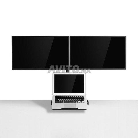 Support de Pc et deux écrans - 4