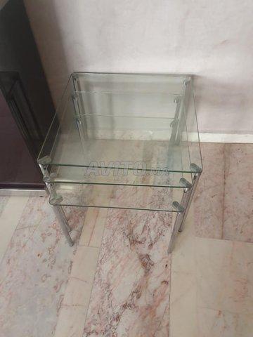 Meuble tv et table plus 3 cendrillers  - 2
